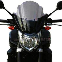 Bicicletas de pára-brisa on-line-Motocicleta Street Bike Windshield WindScreen para 2006-2015 Suzuki GSR600 GSR400