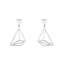 Wholesale European Dangle Pearl - GORGEOUS TALE 2017 New Fashion European Earrings for Women Triangle Statement Geometric Dangle Vintage Design Punk Party Jewelry