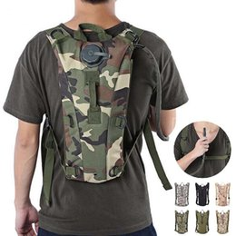 Wholesale Hydration Backpack Wholesale - Tactical Backpack with 3L Hydration Water Bag Pouch for Hiking Climbing Sport Travel shoulder Bag with Opp Bag