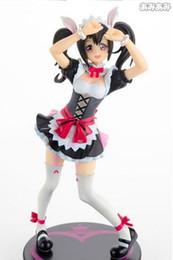 Wholesale Good Lives Model - 20151038 17cm Japanese anime figure Love live!Nico Yazawa figure Maid cosplay action figure collectible model toys