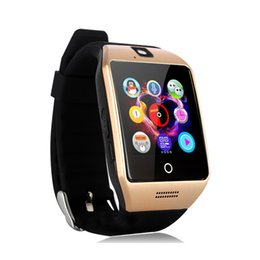 Wholesale Apple Mate - Q18 q18s Bluetooth phone mate Smart Watch whatsapp smarwatch for Iphone and Android Smartphones bracelet wristwatch