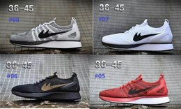 Wholesale Racer Back Tops - 2017 Air Zoom Mariah Racers 2 Men Women Top Quality Casual Racers II Back White Green Red 87 95 unisex outdoor 2018 Walking Shoes 36-45hy