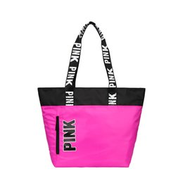 Wholesale Pink Offers - Special offer PINK Women's Shoulder Bag Fashion Shopping Bag New Women's Handbag