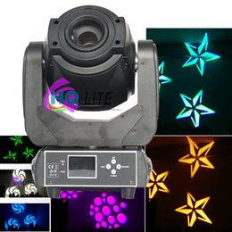 Wholesale Luminus Led - 90W LED Spot Moving Head Lights DMX512 Control USA Luminus Led Moving Head Gobo Prism Function Electronic Focus Zoom