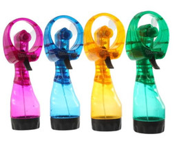 Wholesale Mini Spray Fans - Brand New Mini Fashion Mist Sport Beach Camp Travel Portable Water Spray Cooling Cool Fan