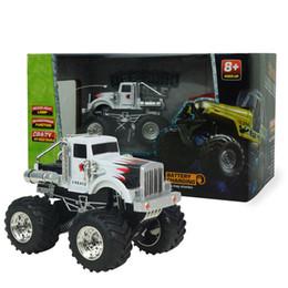 Беспроводной электрический пульт дистанционного управления SUV перезаряжаемые 4 канала rc автомобилей внедорожники childrent подарок на день рождения мальчиков любимые игрушки, мигающий автомобиль от