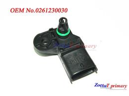 Wholesale Intake Manifolds - New MAP Sensor 0261230030 FOR FIAT PANDA PUNTO BRAVA STILO STILO LANCIA YPSILON
