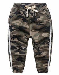Wholesale Winter Trousers For Boys - Boys Pants Fashion Harem Pants Boys Camouflage Casual Trousers Cotton Pants for 1~6 Year boys 5 p l