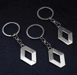 Canada Gros porte-clés de voiture en métal 3D POUR Renault auto fournitures renault emblème porte-clés, Reynolds accessoires, Reynolds voiture logo porte-clés Offre