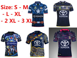 Wholesale Rugby Cowboys - 2017-2018 NORTH QUEENSLAND COWBOYS 2017 HOME JERSEY Captain America Marvel Ltd Edition Rugby Shirt 2017 18 Cowboys rugby shirts size S-3XL