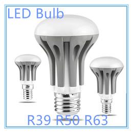 Wholesale R63 Lamp - Newest Dimmable R39 R50 R63 LED Bulb Light E14 E27 led lamp 85V-265V 220V lampada Spotlight warm white white cool white