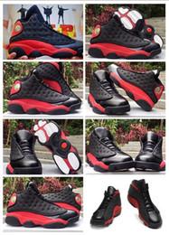 2020 migliori scarpe da basket esterne I più nuovi all'ingrosso scarpe da ginnastica nuove 13s nero rosso scarpe ologramma per gli uomini le donne scarpe da basket sportive migliori sport all'aria aperta scarpe da corsa sconti migliori scarpe da basket esterne