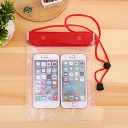 Canada Étui transparent pour étui étanche à l'eau de grande taille pour téléphone portable pour appareil photo Sacs étanches pour iphone samsung htc huawei Offre