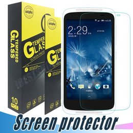 Wholesale M7 Screen Protectors - Tempered Glass For HTC One M7 M8 M9 E9 Max Tempered Glass Screen Protector Film Anti Shatter 9H 2.5D For HTC M9 Plus M10 UPlay 10 Lifestyle