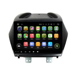 "Wholesale Mp3 Bluetooth Mirror - 1024*600 Quad Core 2 din 9"" Android 5.1 Car DVD GPS for HYUNDAI IX35 TUCSON With Radio 3G WIFI Bluetooth TV USB DVR Mirror link Car DVD"