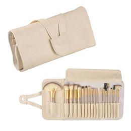 Wholesale 18 brushes - 12 18 24pcs Makeup Brush Set Kit Professional Makeup Brushes Foundation Powder Blush Eyeliner Brushes Cosmetics brush makeup tool 2805046