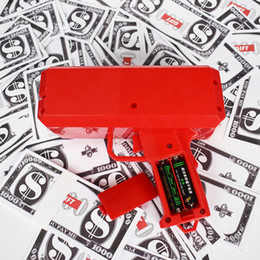 Wholesale Money Plays - Money Gun Cash Cannon Make It Rain Novelty Money Toy for Bachelor  Birthday Party Club Webbing Game Included Play Bills