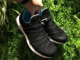 Wholesale Real Nest - (+BOX)2017 Super Quality A+++ 100% Real Boost Ultra Boost Black White Bird Nest Running Shoes Men Sneakers Size 39-45