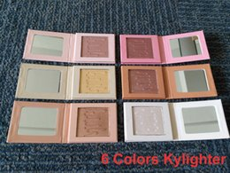 Wholesale Cosmetic Stocks - Hot Kylie Jenner Kylighter glow kit & 6 colors highlighters Kylie cosmetics,in stock,good quality, shipping within 24 hours free shipping