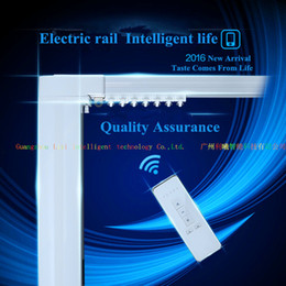 Wholesale Tracking Stainless Steel - Motorized Curtain system Specially For Hotels and Villa