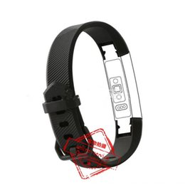 Wholesale Metal Strap Wrist Watch - 10 Colors NEW Watch CLASP TYPE Fitbit alta HR Band With Clasp Replacement TPU Wrist Strap Wireless Bracelet Wristband With Metal Clasp