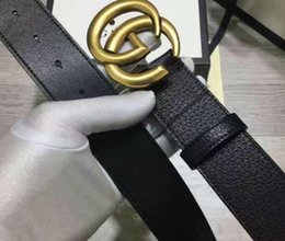 Wholesale Fashion double G chain buckle men belts high quality imported real leather toad pattern design designer belt brand waistbands with out box