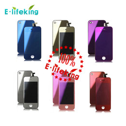 Wholesale iphone 4s screens wholesale - Excellent Quality Wholesale price mirror Color for iphone 4 & 4S CDMA LCD Screen Replacement & Touch Screen Digitizer Full Assembly