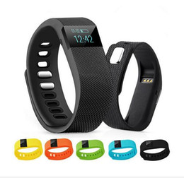 Wholesale Green Day Wristbands - FITBIT Style TW64 Wristband Smart Band Fitness Activity Tracker Bluetooth 4.0 Smartband Sport Bracelet For IOS & Android Phone Ship In 1 Day