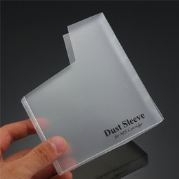 Wholesale Game Cartridges - Dust Protective Case Cover for NES Game Cartridge Dust Sleeve Matte Protector Covers DHL FEDEX FREE SHIPPING