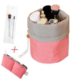 Wholesale Barrel Cover - Makeup bag - Waterproof Travel Kit Organizer Bathroom Storage Cosmetic Bag Carry Case Toiletry Bag