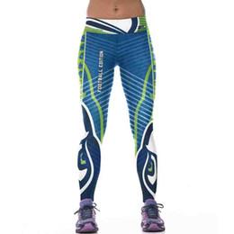 Wholesale Knitted Leggings For Girls - Wholesale- JLZLSHONGLE 3D Printing Girl Pants Legging Women Sporting Leggings Fitness New 22 Styles Elastic Workout Clothes For Women