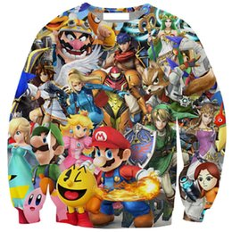 Wholesale 3d Animal Sweatshirts - Wholesale- Couture 2016 new harajuku style cartoon 3d printed hoodies men women brand design sweatshirt casual sportwear tops size s-5XL