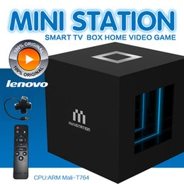 Wholesale Dual Core Lenovo - Luxury Lenovo G66 TV Box Smart Game Player 2GB 16GB Rockchip RK3288 Quad Core Android 5.1 KD 17.1 Dual Wifi AC Bluetooth 4.1 Better S905W