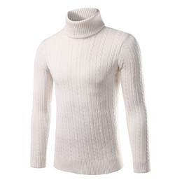 Wholesale Korean Sweater Sale - Wholesale- Hot sale Thick turtleneck sweater male Korean winter 2016 new men's turtleneck sweater cultivating wild solid color shirt tide