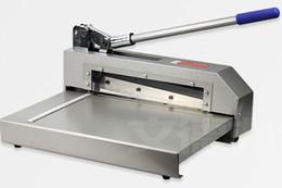Алюминий отрезка Shearer стальной плиты доски PCB бумажного резца ножа мощных ножниц стальной от