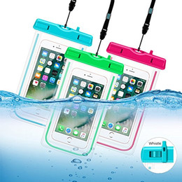Wholesale Cell Phone Float - Waterproof Case, Universal Cell Phone Dry Bag Floating Pouch for iPhone 7, 7 Plus, 6s, 6s Plus, 5s, se, Galaxy S8 S7