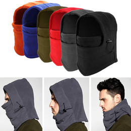 Wholesale Face Hoods - Winter Bicycle Mask Fleece Face Windproof Warmer for Motor cycling Snowboarding Outdoor Ski Sports Moisture Wicking Head Hood Warm Gear New
