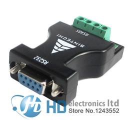 Adaptador de cabo conversor on-line-Venda por atacado - RS232 para RS485 adaptador adaptador 232 por sua vez 485 adaptador 485 conversor de adaptador de comunicação