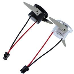 Wholesale Mini Save - Wholesale- 10pcs Lot 1W Mini Led Under Cabinet Lamps Recessed Mini Led Downlight AC85-265V micro miniature spot downlight With Led Driver