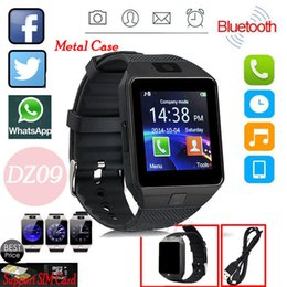 Wholesale Cell Phone Pets - Dz09 Bluetooth Smart Watch All in one, Unlocked Watch Cell Phone, Bluetooth wach for Iphone and Android phones Samsuny Galaxy Note ,TCL, ZTE