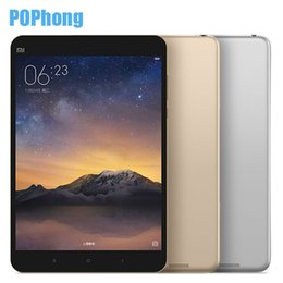 Wholesale Metal Inch Tablet Pc - Wholesale- Original Xiaomi mipad 2 I-ntel Atom X5 Full Metal MI Pad 2 Windows Tablet PC 7.9 Inch 2GB RAM 64GB ROM 8MP 6190mAh Quick Charger