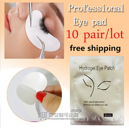 Wholesale Wholesale Made Stickers - 10pairs pack New Paper Patches Eyelash Under Eye Pads Lash Eyelash Extension Paper Patches Eye Tips Sticker Wraps Make Up Tools