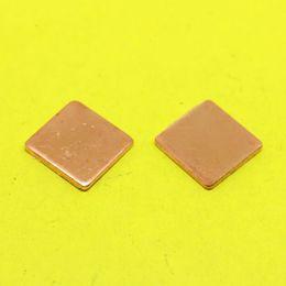 Wholesale Ram Gpu - Wholesale- TL-101 15x15x1.5mm Copper Shim Heatsink Thermal Pad Heat Sink Sheet DIY For Laptop GPU CPU VGA Chip RAM cooler cooling