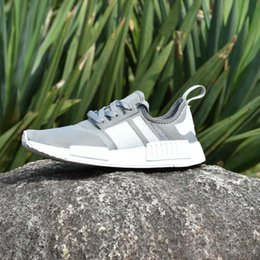 Wholesale Perfect Beige - 2017 NMD R1 Primeknit PK Authentic Perfect Cheap Wholesale Running Sneakers Fashion Running Shoes Sneakers Eur 36-46 With Box