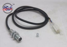 Wholesale Motorcycle Sensor - Wholesale- ATV Digital Odometer Sensor Cable For Motorcycle Digital Odometer Speedometer Tachometer