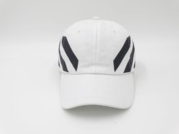Wholesale Skateboard Caps - 3 color retail Off White Cap Baseball cap PALACE snapback Hat White skateboard brand golf for women and men of the hat bone CASQUETTE