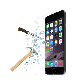 Wholesale New Iphone Glass Screen - 2017 NEW 0.3mm 9H Premium Tempered Glass Screen Protector Film For iPhone 4 4s 5 5S 5c SE 6 6s 7 Plus 7Plus Protective Film for Apple series