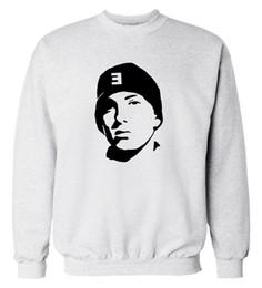 hip hop kleidung usa Rabatt Großhandels-USA Rapper Eminem Sweatshirt 2016 Herbst Winter neue Mode Männer Hoodies Hip Hop Stil coole Streetwear Trainingsanzug Kleidung