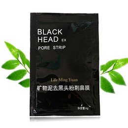 Wholesale Membranes Types - The black black mud nasal membrane mineral mud mask post tear type to black contractive pore nose manufacturers selling DHL free shipping