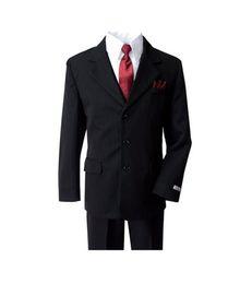 Wholesale Little Boys Wedding Suits - Fashion three-piece boy suits new fashion little boys formal tuxedos suits boys suits for wedding occasion new style suit(jacket+pants+vest)